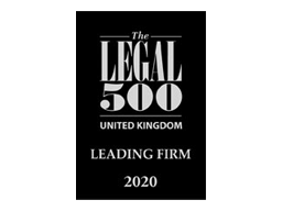 Legal 500 2020 Leading Firm