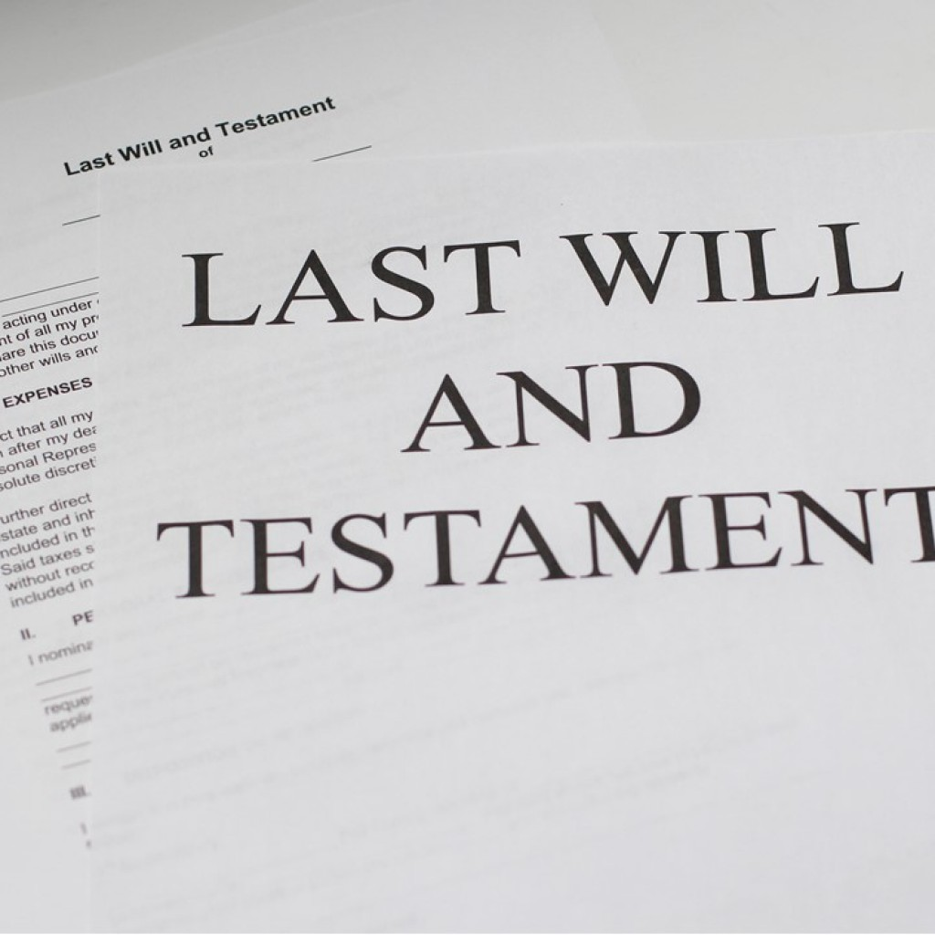 Gifts to non-existent charities in wills